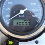 CB400SFの走行距離が3万キロに