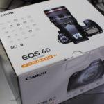 フルサイズ一眼レフ Canon EOS 6D購入!