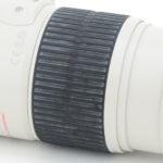 中古レンズのラバー部分の白い汚れの原因…
