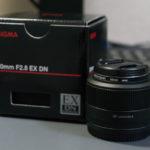 SIGMA 30mm F2.8 EX DNを購入しました