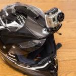 GoProマウントをヘルメットに追加で貼ってみた
