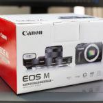 Canon EOS M ダブルレンズキット購入