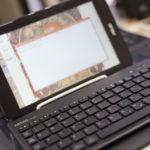 タブレット用にキーボード購入 ELECOM TK-FBP052