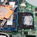 ノートパソコンのCPUグリスを塗り直した Lenovo IdeaPad U310