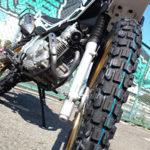 タイヤ交換とバイクカバー・ライディングブーツ購入