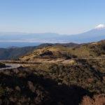 富士山を見ながら走る西伊豆スカイラインツーリング