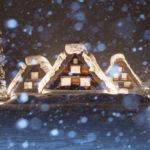 世界遺産・雪の白川郷ライトアップツアーへ行って来た