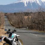 精進湖も凍る、冬の富士山ツーリング