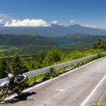 本栖湖を見下ろす絶景・富士山舗装林道ツーリング