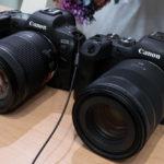 Canon EOS R5 / R6 先行展示へ行って触ってきた。