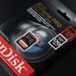 SDカード購入 SanDisk Extreme Proの速度測定