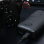 CANON EOS R6を充電する為にモバイルバッテリーを購入。