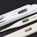 測定時間の早い体温計に買い替え。テルモ 病院用 電子体温計 C207